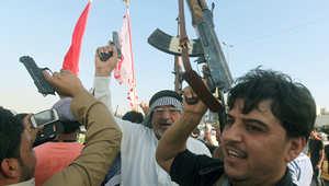 متطوعون للقتال إلى جانب القوات الحكومية