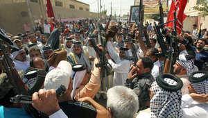 متطوعون في بغداد للقتال إلى جانب القوات الحكومية
