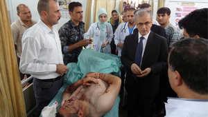جريح بسبب القتال في العراق
