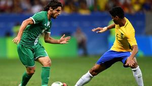 العراق يحرج البرازيل والجزائر تودع