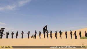 """بالصور.. داعش في """"ولاية سيناء"""""""