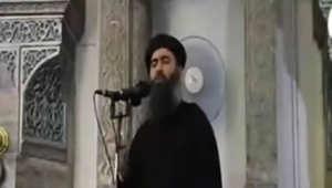"""تنظيم """"داعش"""" ينشر رسالة صوتية منسوبة للبغدادي بعد تقارير عن إصابته بغارة أمريكية"""