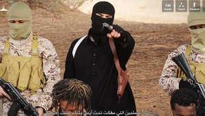 """فيديو لـ""""داعش"""" يظهر إعدام مسيحيين إثيوبيين ذبحاً ورمياً بالرصاص في ليبيا"""