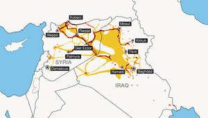 """""""داعش"""" يسيطر على أكثر من نصف مساحة سوريا"""