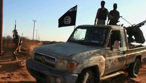"""صورة ملتقطة من فيديو بثته """"داعش"""" على الانترنت"""