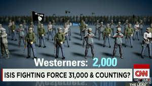 ارتفع عدد مقاتلي داعش لثلاثة أضعاف