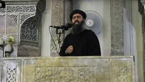 زعيم داعش ابو بكر البغدادي