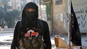 صورة أرشيفية لأحد مقاتلي القاعدة في سوريا
