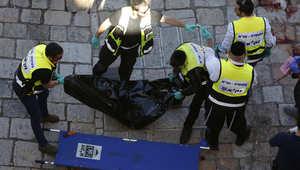 """إصابة شرطيين إسرائيليين """"بحادثة طعن"""" على يد فلسطيني قتل في القدس"""