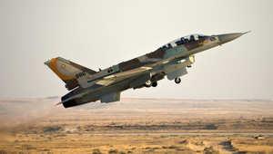 """مقاتلة إسرائيلية من طراز """"أف 16"""""""