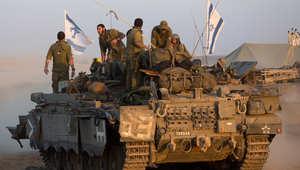 حشود عسكرية إسرائيلية قرب غزة