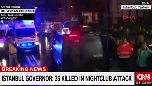 """مسؤول تركي لـCNN عن إطلاق النار في ملهى ليلي باسطنبول: تشير دلالات إلى """"هجوم جهادي"""""""