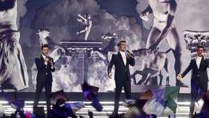 حاز الإيطالي إيل فولو على المرتبة الثالثة في المسابقة التي استضافتها العاصمة النمساوية، فيينا