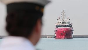 بواخر إيطالية تتجه إلى ليبيا.. والبرلمان يحذر