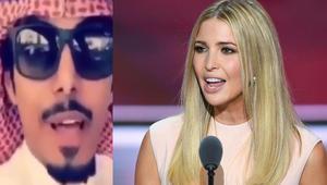 """بالفيديو.. قصيدة من شاب """"خليجي"""" لابنة دونالد ترامب تشعل انستغرام"""