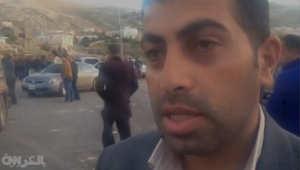 جودت الكساسبة شقيق الطيار الأردني معاذ الكساسبة الذي أعدمه تنظيم داعش، خلال مقابلة مع CNN بالعربية، بلدة عي محافظة الكرك 4 فبراير/ شباط 2015