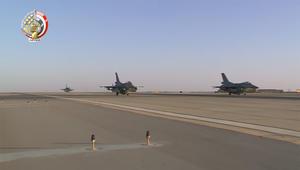 دفاع مصر تنشر فيديو استعدادات سلاح الجو لضربته في ليبيا