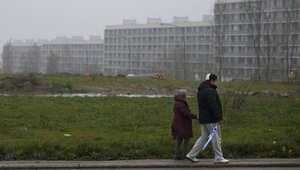 أحد الأحياء الفقيرة في الدنمارك