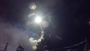 البنتاغون ينشر فيديو لعملية إطلاق صواريخ توماهوك ضد سوريا