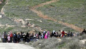 """الأمم المتحدة تناشد الأردن استقبال 12 ألف """"عالقاً سورياً"""""""