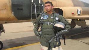 داعش ينشر صورا يقول إنها لعملية حرق الطيار الأردني معاذ الكساسبة حيا داخل قفص