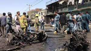 15 قتيلا و 37 جريحا في تفجير انتحاري بأفغانستان