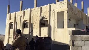 شاهد.. آثار عملية أمنية في قريفلا بالأردن