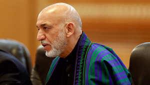 الرئيس الأفغاني حميد كرزاي