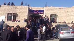 ديوان عشيرة الكساسبة، في بلدة عي محافظة الكرك جنوب الأردن حيث أقيم عزاء الطيار معاذ الكساسبة 4 فبراير/ شباط 2015