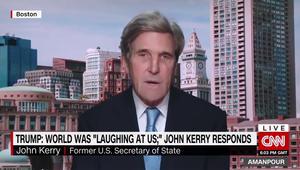 وزير خارجية أمريكا السابق لـCNN: العالم يضحك ويبكي اليوم على رئيس أمريكا