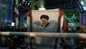 المرشد الأعلى للثورة الإيرانية علي خامنئي