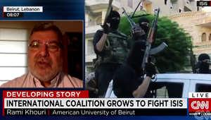 خوري لـCNN: خطوط الفصل بين الأعداء بالمنطقة سقطت.. ضرب داعش لا ينفصل عن لقاء الفيصل وظريف وسقوط صنعاء بيد الحوثيين