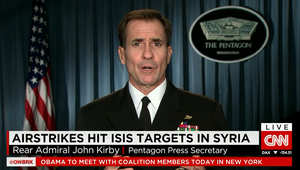 المتحدث الإعلامي بالبنتاغون لـCNN: العمليات الجوية في سوريا قد تستغرق أكثر من عام