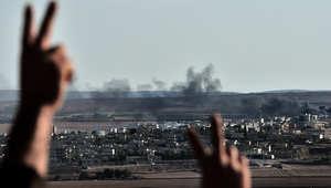 """معركة """"كوباني"""".. 14 غارة للتحالف و""""داعش"""" يقصف البوابة الحدودية والأكراد يتقدمون للمربع الأمني"""
