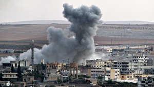 """مسلحو """"داعش"""" يتقدمون إلى غرب كوباني ويفتحون خط إمدادات من حلب والرقة بالدراجات النارية"""