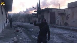 """الأكراد يُخضعون 80% من كوباني و""""داعش"""" ينشر تسجيلات للمعارك ويهدد بـ""""فتح"""" بغداد والسعودية وتونس"""