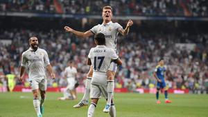 ريال مدريد يهزم سليتا فيغو ويتصدر مؤقتا