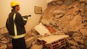 الدفاع المدني السعودي: انهيار جزء من جبل على سقف مبنى في مكة.. وإصابة شخصين