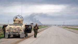 """الأكراد يصدون هجوما واسعا لتنظيم """"داعش"""" على مواقعهم قرب أربيل"""