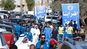 عمال النفط بالكويت يعاودون العمل بعد إلغاء الإضراب والحكومة تؤكد: لا خطة للخصخصة ولن نبيع البلد