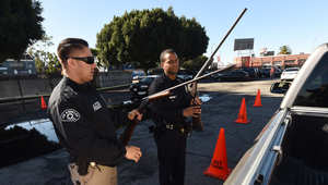أمريكا.. مطاردة مشتبه بإطلاق النار على شرطيين في لوس أنجلوس واعتقال آخر