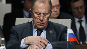 لافروف يحذر من استخدام القوة ضد المحتجين الموالين لروسيا في شرق أوكرانيا