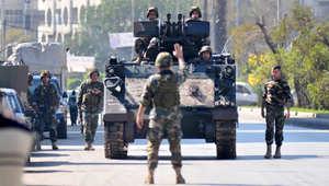 """لبنان: 6 قتلى في هجوم على دورية للجيش في """"رأس بعلبك"""" قرب الحدود مع سوريا"""
