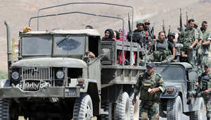 يواجه الجيش مليشيات مسلحة في منطقة عرسال
