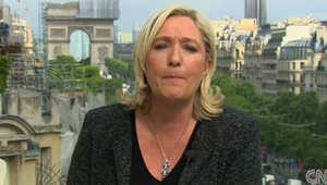 مارين لوبان: تحالف لليمين المتشدد بأوروبا ووالدي لم يقل إن وباء الإيبولا سيخلصنا من الهجرة