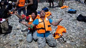 """أزمة اللاجئين.. """"ليسبوس"""" على حافة الانفجار بأكثر من 10 آلاف لاجئ"""