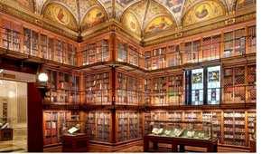 مكتبة مورغان بنيويورك