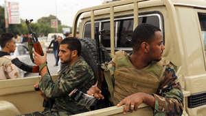 صورة ارشيفية لعنصرين من الجيش الليبي
