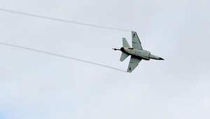 صورة ارشيفية لطائرة عسكرية ليبية من طراز ميراج