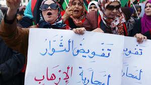 الجامعة العربية تبقي الحل السياسي للأزمة الليبية وتلوح بتدخل عسكري